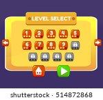level select game menu...