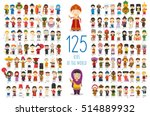 kids of the world vector... | Shutterstock .eps vector #514889932