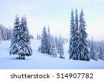 far away in the high mountains... | Shutterstock . vector #514907782