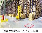 fork lift operator preparing... | Shutterstock . vector #514927168