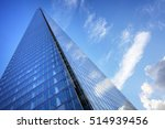 the shard london uk low angle... | Shutterstock . vector #514939456