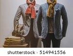elegant men clothing in a...   Shutterstock . vector #514941556