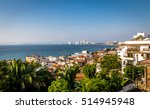 puerto vallarta sea and... | Shutterstock . vector #514945948