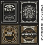 Set Whiskey Labels.