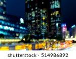 abstract bokeh city light for... | Shutterstock . vector #514986892