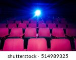 movie theater with empty seats... | Shutterstock . vector #514989325
