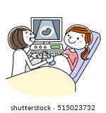pregnancy screening | Shutterstock .eps vector #515023732