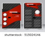 abstract flyer design... | Shutterstock .eps vector #515024146