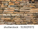 background of old brick wall... | Shutterstock . vector #515029372
