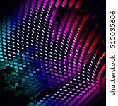 abstract vector background dot... | Shutterstock .eps vector #515035606