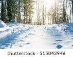 finland. sun shining and...   Shutterstock . vector #515043946