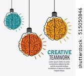 brain of creative teamwork