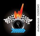 racing | Shutterstock .eps vector #51505345