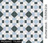 seamless bule mosaic pattern  ...   Shutterstock .eps vector #515056216