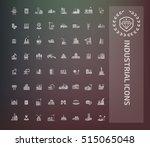 industry icon set vector | Shutterstock .eps vector #515065048