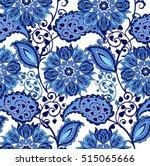 traditional oriental seamless... | Shutterstock .eps vector #515065666