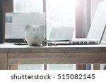 pig piggy bank  coins  bank...   Shutterstock . vector #515082145