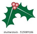 mistletoe | Shutterstock .eps vector #515089186