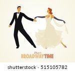 that's broadway time  elegant... | Shutterstock .eps vector #515105782