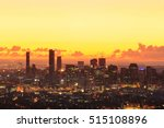 Sunrise View Of The Brisbane...