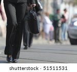 Image Of A Businesswoman's...