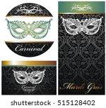 masquerade ball party... | Shutterstock .eps vector #515128402