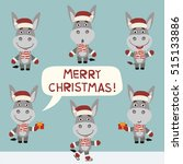 merry christmas  vector set...
