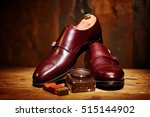 still life with men's leather... | Shutterstock . vector #515144902