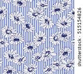flower illustration pattern | Shutterstock .eps vector #515154826