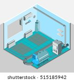 heating cooling system interior ... | Shutterstock .eps vector #515185942