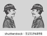 vector illustration of vintage... | Shutterstock .eps vector #515196898