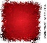 grunge christmas background... | Shutterstock .eps vector #515210116