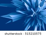 abstract background 3d... | Shutterstock . vector #515210575