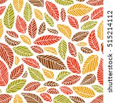 seamless  colorful autumn...   Shutterstock .eps vector #515214112