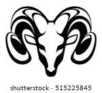 emblem aries | Shutterstock .eps vector #515225845
