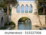 venetian arch. italian arch.... | Shutterstock . vector #515227306