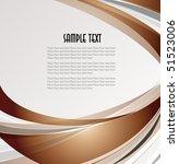 abstract wavy vector design | Shutterstock .eps vector #51523006