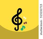 flat vector icon design... | Shutterstock .eps vector #515232715