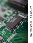 motherboard's green electronic... | Shutterstock . vector #5152369