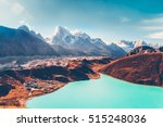 himalayas. view from gokyo ri ... | Shutterstock . vector #515248036