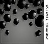 vector illustration of a black... | Shutterstock .eps vector #515254726