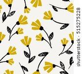 seamless repeat flowers pattern ... | Shutterstock .eps vector #515275228