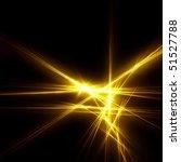 Gold Sparkle Fractal
