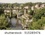 Knaresborough Viaduct In Summer