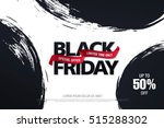black friday sale banner | Shutterstock .eps vector #515288302