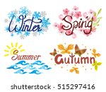 Four Seasons   Winter  Spring ...