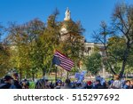 boston  ma  usa   november 11 ... | Shutterstock . vector #515297692