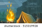 vector banner on the theme of... | Shutterstock .eps vector #515319928