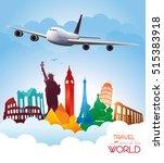 travel background | Shutterstock .eps vector #515383918