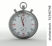 stopwatch on white background.... | Shutterstock . vector #51540748
